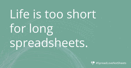 blog excel life is too short fixing spreadsheets